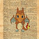 Pokemon - Charmander Costume Dictionary by Aaron Campbell