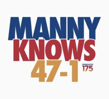 Manny Pacquiao - 'MANNY KNOWS' Parody T-Shirt
