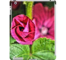 Hot Pink Flowers iPad Case/Skin