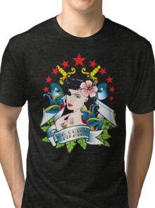 La Chica Pirata Tri-blend T-Shirt