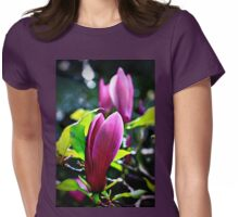Magnolia Blossoms Womens Fitted T-Shirt