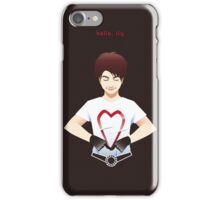 Hello I Love You- Yuzuru Hanyu iPhone Case/Skin