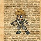 Kingdom Hearts - Roxas Dictionary by Aaron Campbell