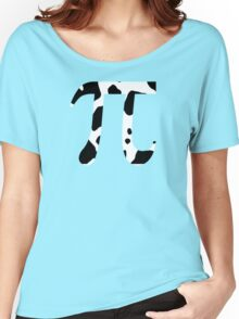 Cow Pi Funny Geek Nerd Women's Relaxed Fit T-Shirt