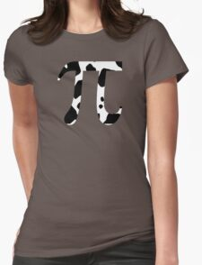 Cow Pi Funny Geek Nerd Womens Fitted T-Shirt