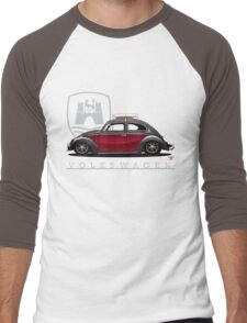Black and Red Beetle Men's Baseball ¾ T-Shirt