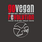 GO VEGAN REVOLUTION by fuxart