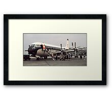 Vanguard at Orly airport 196104190179 Framed Print
