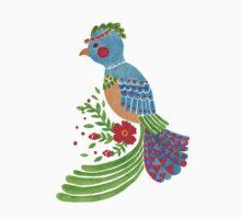 The Blue Quetzal by haidishabrina