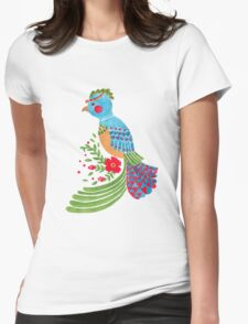 The Blue Quetzal Womens Fitted T-Shirt