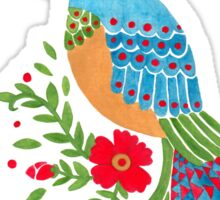 The Blue Quetzal Sticker