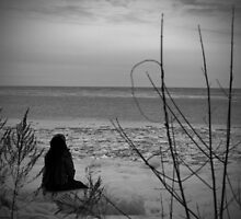 In the Cold of Winter...She Waits for the Warmth of Summers Sun by Mystic Raven Art