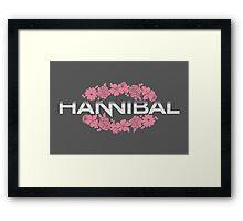 Hannibal Flower Crown Framed Print