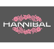 Hannibal Flower Crown Photographic Print