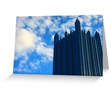 Downtown - Pittsburgh Pa (2) Greeting Card