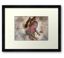My Little Angel Framed Print