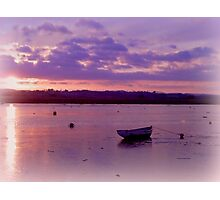 Alone on the water Photographic Print