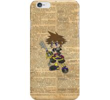 Kingdom Hearts - Sora Dictionary iPhone Case/Skin