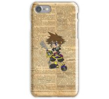 Kingdom Hearts - Sora Dictionary iPhone Case/Skin