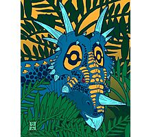 Styracosaurus Jungle Photographic Print