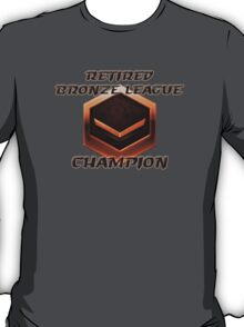 Retired Bronze League Champion T-Shirt
