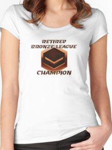 Retired Bronze League Champion Women's Fitted Scoop T-Shirt