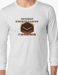 Retired Bronze League Champion Long Sleeve T-Shirt