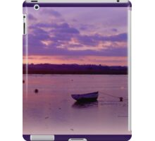 Alone on the water iPad Case/Skin