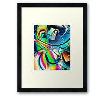 'Chromatic Vision' Framed Print