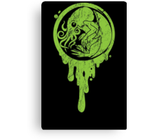 Baby Cthulhu (distressed)  Canvas Print
