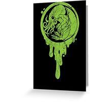 Baby Cthulhu (distressed)  Greeting Card