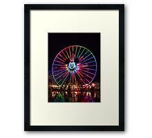 Mickey's Fun Wheel Framed Print