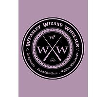 Weasley Wizard Wheezes Logo Photographic Print