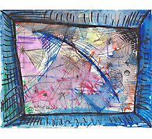 BLUE COMET(C2012) Photographic Print