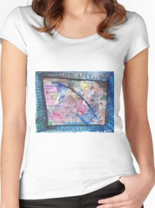 BLUE COMET(C2012) Women's Fitted Scoop T-Shirt