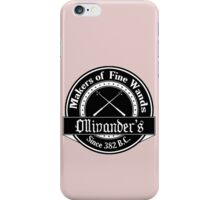 Ollivander's Wand Shop Logo iPhone Case/Skin
