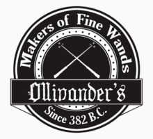 Ollivander's Wand Shop Logo by pixelspin