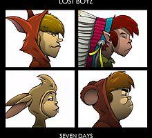 LOST BOYZ by claygrahamart