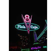 Flo's V8 Cafe Photographic Print