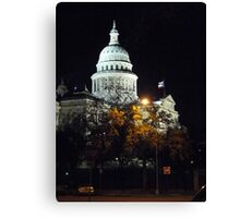 Capital In Austin Texas  Canvas Print