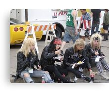 Hair Metal in the New Millenium Canvas Print