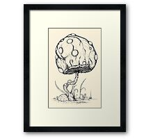 Grow Mario!  Framed Print