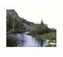 Twin Lakes Art Print