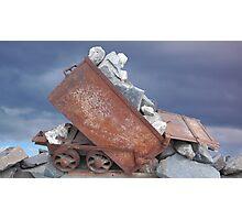 mining ore cart Photographic Print