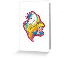 Rainbow and Starlite Greeting Card