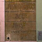 Ghost Sign at No. 155  by Ethna Gillespie