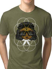 THREE EYEZ Tri-blend T-Shirt