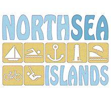 NORTH SEA ISLAND Photographic Print