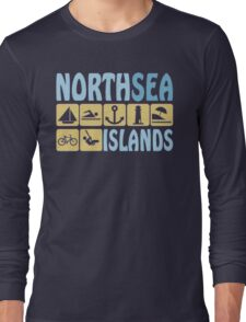 NORTH SEA ISLAND Long Sleeve T-Shirt