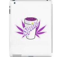 Codeine,Sprite + Weed iPad Case/Skin